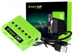 Green Cell RC Charger voor Syma Hubsan JJRC Wltoys 3.7V