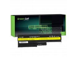 Green Cell Laptop Accu 92P1138 92P1139 42T4504 42T4513 voor Lenovo ThinkPad R60 R60e R61 R61e R61i R500 SL500 T60 T61 T500 W500