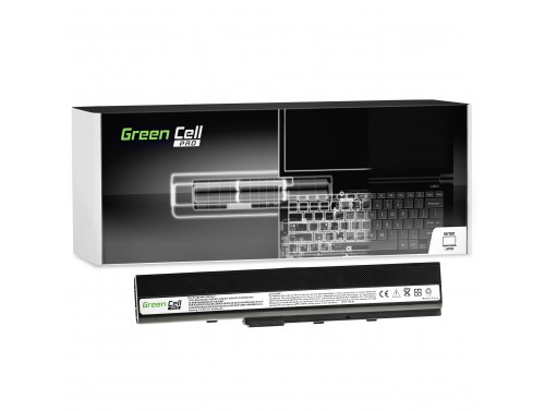 Green Cell PRO Laptop Accu A32-K52 voor Asus A52 A52F A52N K42 K52 K52D K52F K52J K52JB K52JC K52JE K52N X52 X52F X52J X52N