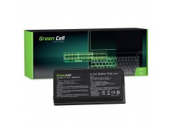 Green Cell Laptop Accu A32-F5 voor Asus F5 F5C F5GL F5M F5N F5R F5SL F5SR F5Z F5V F5GL F5RL X50 X50GL X50M X50N X50RL X50SL