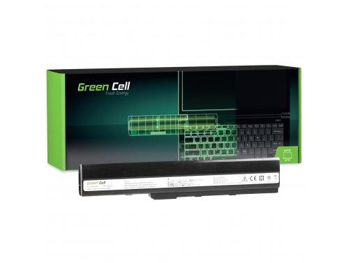 Green Cell Laptop Accu A32-K52 voor Asus A52 A52F A52N K42 K52 K52D K52F K52J K52JB K52JC K52JE K52JR K52N X52 X52F X52J X52N