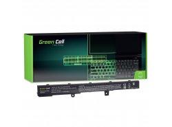 Green Cell ® laptopbatterij A41N1308 A31N1319 voor R508 R556LD R509 X551 X551C X551M X551CA X551MA X551MAV