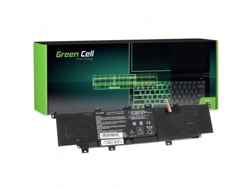 Green Cell ® laptopbatterij C31-X402 voor Asus VivoBook S300 S300C S300CA S400 S400C S400CA X402 X402C