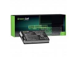 Green Cell Laptop Accu A32-F80 A32-F80A voor Asus F50 F50SL F50Q F50Z F80 F80H F80L F80S F81 N60 X60 X61 X61G X61S X61Z X61SL