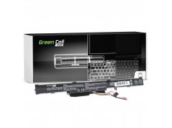 Green Cell PRO Laptop Accu A41-X550E voor Asus A550 F550 F550D K550 K750 R510 R510D R510DP R750 R752L X450 X550 X550D X750