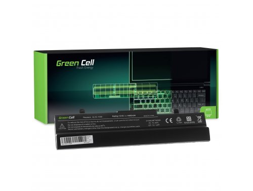 Green Cell ® Laptop Akku AL32-1005 voor Asus Eee-PC 1001 1001P 1001PX 1001PXD 1001HA 1005 1005P 1005PE 1005H 1005HA
