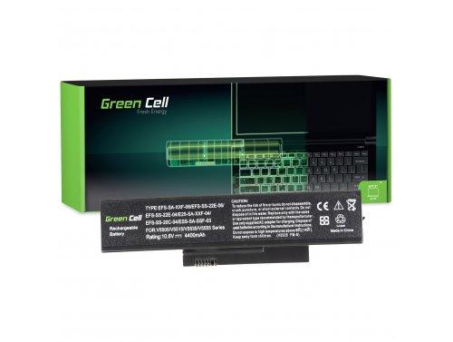 Green Cell ® laptopbatterij SDI-HFS-SS-22F-06 voor Fujitsu-Siemens Esprimo Mobile V5515 V5535 V5555 V6515 V6555