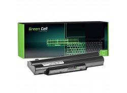Green Cell Laptop Accu FPCBP250 voor Fujitsu LifeBook A512 A530 A531 AH502 AH530 AH531 LH520