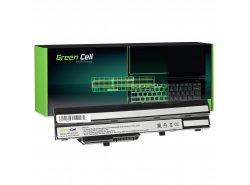 Green Cell Laptop Accu BTY-S11 BTY-S12 voor MSI Wind U90 U100 U110 U120 U130 U135 U135DX U200 U250 U270