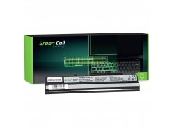 Green Cell Laptop Accu BTY-S12 BTY-S11 voor MSI Wind U100 U250 U135DX U270 MOUSE LuvBook U100 PROLINE U100 Roverbook Neo U100