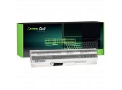 Green Cell ® Laptop Akku BTY-S12 BTY-S11 voor MSI Wind U100 MUISCOMPUTER LuvBook U100 PROLINE U100 Roverbook Neo U100