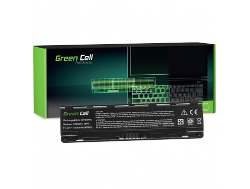 Green Cell Laptop Accu PA5024U-1BRS PABAS259 PABAS260 voor Toshiba Satellite C850 C850D C855 C870 C875 L850 L850D L855 L870