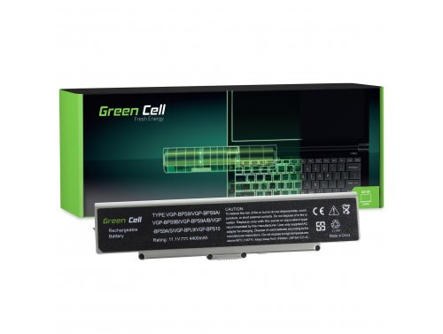 Green Cell ® Laptop Batterij VGP-BPS9B VGP-BPS9 voor SONY VAIO VGN-AR570 CTO VGN-AR670 CTO VGN-AR770 CTO