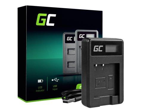 Camera-acculader BC-CSN Green Cell Cell® voor Sony NP-BN1, Cyber-Shot DSC-QX10 DSC-QX100 DSC-TF1 DSC-TX10 DSC-W530