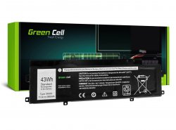 Green Cell Laptop Accu 5R9DD voor Dell Chromebook 11 3120 P22T