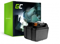 Green Cell ® batterijtool BL1830 BL1860 voor Makita BDF450SFE BTL061RF BTW450RFE 6000mAh