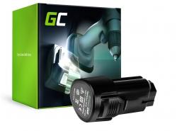Green Cell ® Akkuwerkzeug L1215 voor AEG BBH12 BBS12C BBS12C2 BS12C BS12C2 BSB12C BSB12C2 OMNI 12C