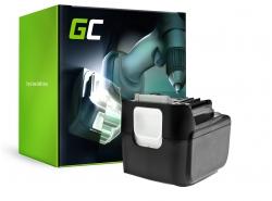 Green Cell ® snoerloos gereedschap voor Makita BL1415 BL1430 BL1440 14.4V 4000mAh