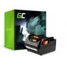 Green Cell ® snoerloos gereedschap voor AEG L1830R B1820R 18V 4Ah