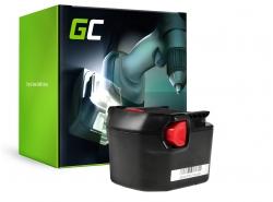 Green Cell ® Akkuwerkzeug voor AEG B1214G B1215R B1220R 12V 2Ah