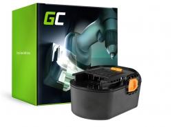 Green Cell ® snoerloos gereedschap voor AEG BS 14G BS 14 X 14.4V 3Ah