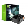 Green Cell ® GreenWorks voor GreenWorks apparaten 8838 380 380EC 380LI 25V 4Ah Samsung