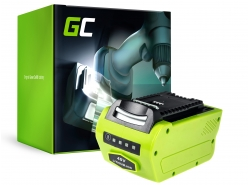 Green Cell ® GreenWorks voor GreenWorks apparaten 2601102 G-MAX 40V 4Ah Samsung