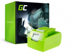 Green Cell ® GreenWorks voor GreenWorks apparaten 29852 G-24 G24 24V 4Ah Samsung