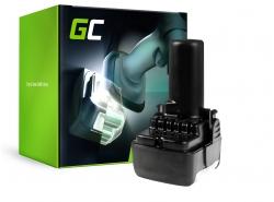 Green Cell ® snoerloos gereedschap voor Hitachi CJ10DL BCL1015 10.8V 2Ah