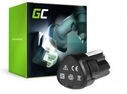 Green Cell ® batterijtool voor WORX WA3503 WA3509 12V 2Ah Samsung