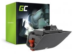 Green Cell ® Akku für Werkzeug Gardena Comfort 35 Roll-Up 8025-20