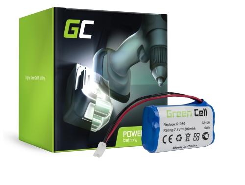 Green Cell ® -batterij voor Gardena C 1060 Plus Solar