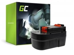 Green Cell ® Akku A14 HPB14 FSB14 für Werkzeug Black&Decker CP14K EPC14 EPC14CA HP142K XTC143 Firestorm FS1400 FS14PS PS142K