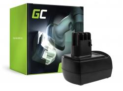Green Cell ® Akku 6.25470 für Werkzeug Metabo BSZ 9.6 BZ 9.6 Impuls ULA 9.6-18