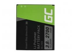 Green Cell ® mobiele telefoonbatterij BL259 voor Lenovo K3 K5 K5 Plus C2 Lemon 3