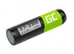 Batterij Green Cell ® VF5 voor GPS TomTom Go 300 400 4D00.001 500 510 510T 530 530T 700 700T 710 910, Li-Ion 2300mAh 3.7V