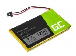 Green Cell ® Akku Topaz für GPS Navigon 70 70/71 Plus Easy Premium