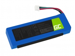Batterij Green Cell ® GSP1029102R P763098 voor luidspreker JBL Charge 2 Charge 2 Plus Charge 2+ Charge 3 2015 version, 6000mAh