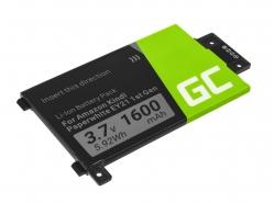 Green Cell ® Akku 58-000008 für Amazon Kindle Paperwhite I 2012 Ebook-Reader