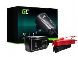 Intelligente Universele Batterijlader Green Cell voor Auto, Motorfiets 6 / 12V (1A)