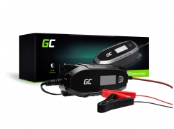 Green Cell Smart batterijlader tester voor auto motorfiets AGM 6 / 12V