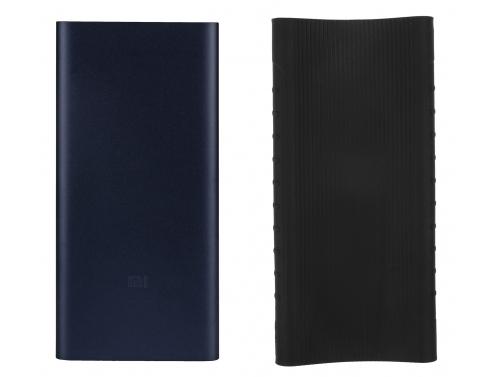 Xiaomi Mi2 10000 mAh QC 3.0 Powerbank + siliconen hoesje
