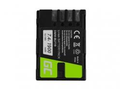 Green Cell ® Akku DMW-BLF19 voor Panasonic Lumix DC-G9 DC-GH5 DC-GH5s DMC-G9 DMC-GH3 DMC-GH4 7.2V 1900mAh