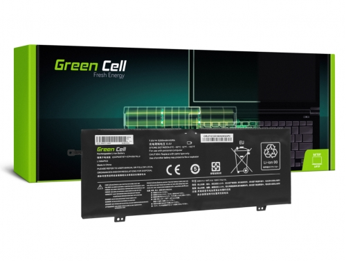 Green Cell Laptop Accu L15L4PC0 L15M4PC0 L15M6PC0 L15S4PC0 voor Lenovo V730 V730-13 Ideapad 710s Plus 710s-13IKB 710s-13ISK