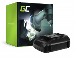 Green Cell ® Batterij WA3511 WA3512 WA3516 WA3523 voor WORX WG151 WG251 WG540 WU289 WU381 WX163 WX164 WX368 AL-KO GTli 18V Comfo