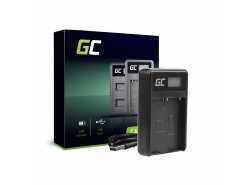 Camera batterijlader BCH-1 Green Cell ® voor Olympus BLH-1, OM-D E-M1 Mark II, Grip HLD-9