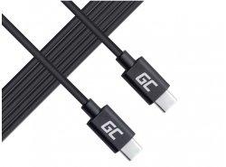 Kabel Green Cell USB-C met USB-C met stroomvoorziening (60 W), 480 Mbps, 2m