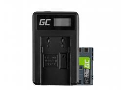 Green Cell ® Akku NB-2L und Ladegerät CB-2LW für Canon PowerShot G7 G9 S70 S80 R100 R11 Canon Elura 85 90