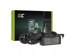 Green Cell ® Voeding / oplader voor laptop Asus EEE PC 1001 1005 1015 1201 1215