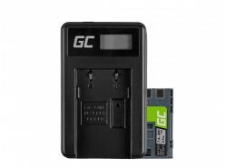 Green Cell ® Akku LP-E6 und Ladegerät LC-E6 für Canon EOS 70D, 5D Mark II/ III, 80D, 7D Mark II, 60D, 6D, 7D 7.4V 1900mAh